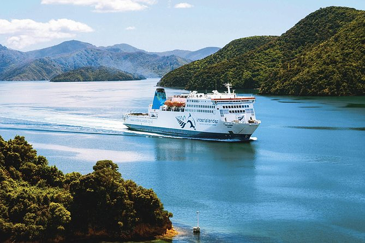 Cook Strait ferry choices